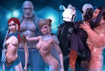 Neue animierte Sex Spiele mit Cartoon Pornos 3D