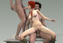 Die beste Animation Sex Spiele mit 3D Karikatur Fick