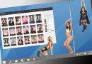Virtuelle madchen oder realmodelle in stripping spiel
