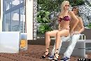 Bose blondine spielt mit einem geilen jungen in 3d sexspiele