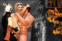 MMORPG Sex Spiele mit elf Pornos und Prinzessin Fick