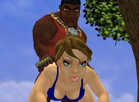 Sex games interracial