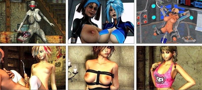 Sexy Erwachsene Toons Spiele