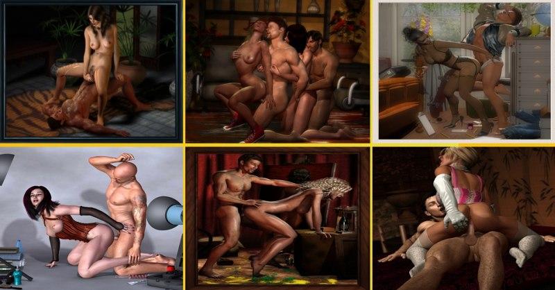 Gay 3d virtuelle Sexspiele