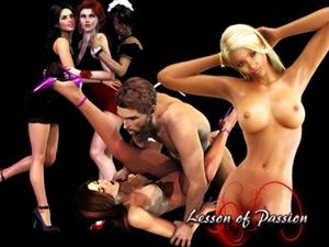 Lesson of Passion Flash Sex Spiele