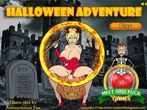 Halloween Adventure Sex in einem Schloss