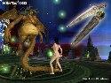 Hentai 3D 2 Spiel mit Alien mit langer schwanz